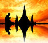 Budistler bangkok — Stok fotoğraf