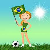 Brazilian football championship — Foto Stock