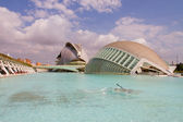 City of Arts and Sciences — Stockfoto