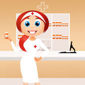 Pharmacyst — Foto de Stock