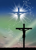 Zmartwychwstanie jezusa — Zdjęcie stockowe