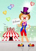 Välkommen på cirkus — Stockfoto