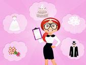Wedding planner — Stock Photo