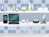 Bilimsel laboratuarı — Stok fotoğraf