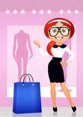 Personal shopper — Stock Photo
