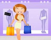 Personal shopper — Стоковое фото