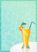 Fresh cocktail — Stock Photo