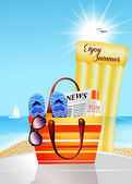 Enjoy summer — Stock Photo