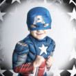 Young Super Hero — Stock Photo
