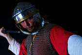 Soldado romano — Foto de Stock