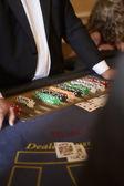 Card Dealer — Stock Photo