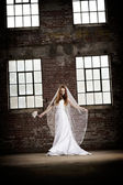 Bride in Vail — Stock Photo