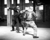 Fight scene — Stock Photo