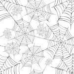 Spider's web. Vector. — Stock Vector