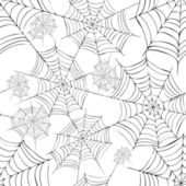 Spider's web. Vector. — Stock Vector