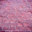 Stock Photo: Wet Cobbled Road Close Up