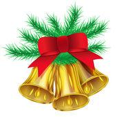Cloches de Noël — Vecteur