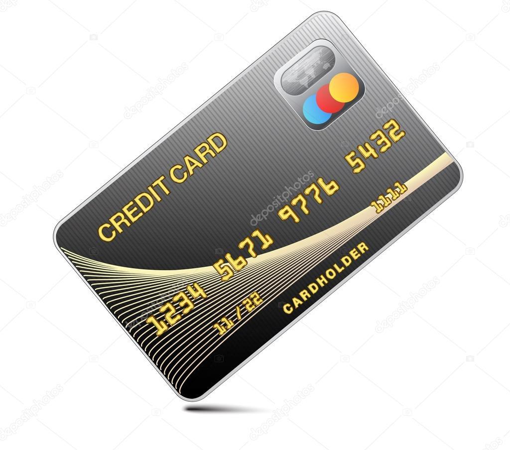 черный изолированные на белом фоне ...: ru.depositphotos.com/22075381/stock-illustration-icon-credit-card...
