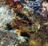 Cristalli. closeup estrema — Foto Stock