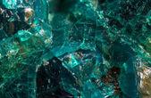 Crystal stone. Extreme closeup.Macro — Stock Photo