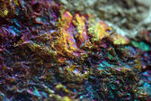 Gold, bronze, copper, iron. Macro. Extreme closeup — 图库照片