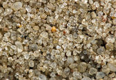 Sand. Macro. Extreme closeup — Stock Photo
