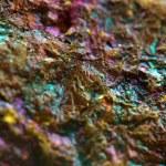 Multi-coloured metal background — Stock Photo