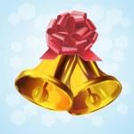Christmas Bell.Vector — Stock Vector