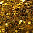 Stock Photo: Abstract golden background. Macro