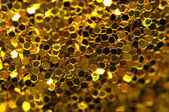 Abstract golden background. Macro — Stock Photo