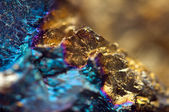 Fantastic background, magic of a stone, gold metal (big collecti — Stockfoto