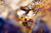 Fantastic background, magic of a stone, gold metal (big collecti — Stock Photo