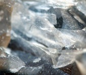 Abstract crystal background (big collection). Macro — Stock Photo