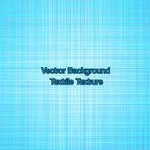 Textile texture blue. Vector — Vecteur