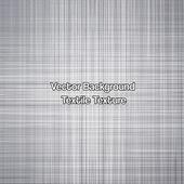 Gris de textile de texture. vector — Vecteur