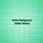 Textile texture green. Vector — Vecteur