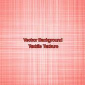 Textile texture red. Vector — Vecteur