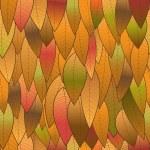 sfondo autunno dalle foglie, struttura senza soluzione di continuità. il vettore im — Vettoriale Stock  #50570573