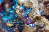 Abstract background from a metal mineral. — Stock Photo