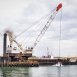 Dredging Port Canaveral — Stock Photo
