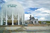 Liquid Hydrogen Storage Tank — Stock Photo