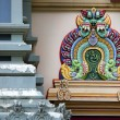 Detail of decorations on a Hindu Temple — Stock Photo
