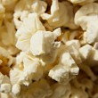 Close-up shot of delicious freshly popped popcorn — Stock fotografie