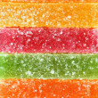Texture multicolored candy close up - Stock Photo