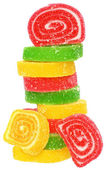 Tower of candy — Stock Photo