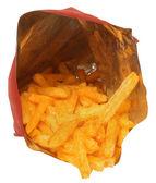 Snack di formaggio isolato — Foto Stock