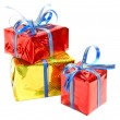 Heap gifts — Stock Photo