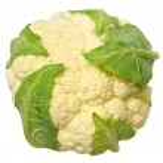 Cauliflower isolated — Stock Photo #19983323