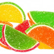 Multicolored fruit candy — Stock Photo
