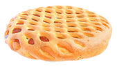 The Piece of the sweet pie — Stock Photo